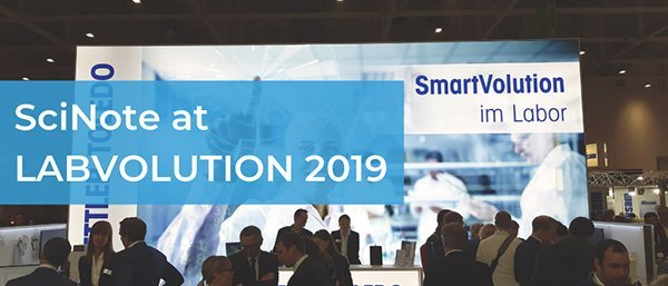 SciNote report from Labvolution 2019