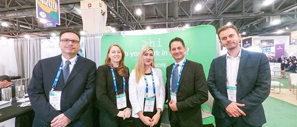 SciNote team photo from BIO International 2019