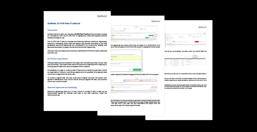 21 CFR part 11 compliance PDF preview
