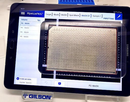Gilson and SciNote integration - PipettePilot