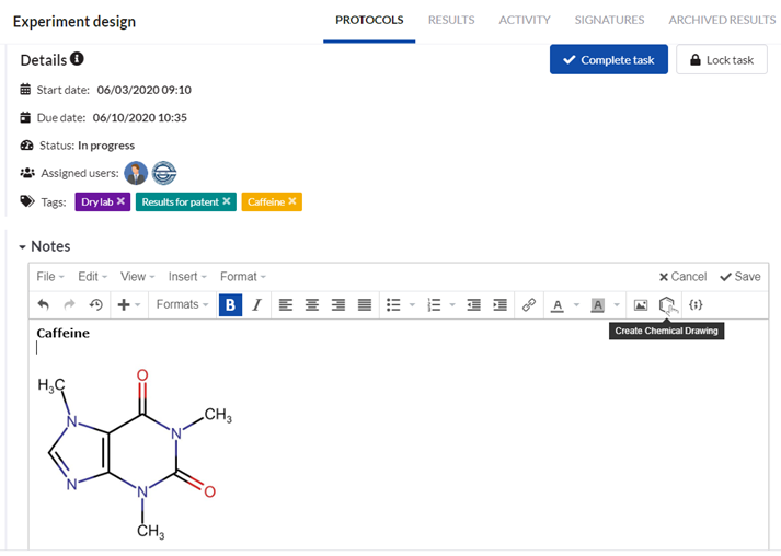 Chemaxon integration - create chemical drawing