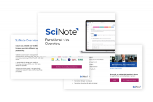 SciNote overview PDF