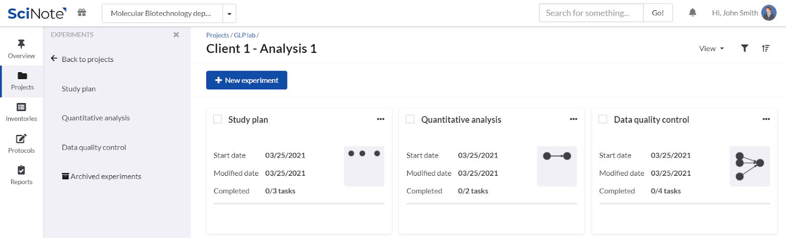 Client 1 Analysis 1